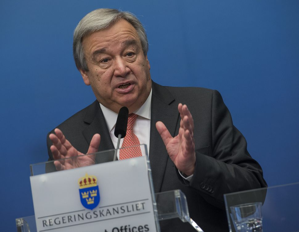 The Secretary-General Is Dead; Long Live the Secretary-General