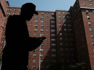 Public housing in East Harlem.