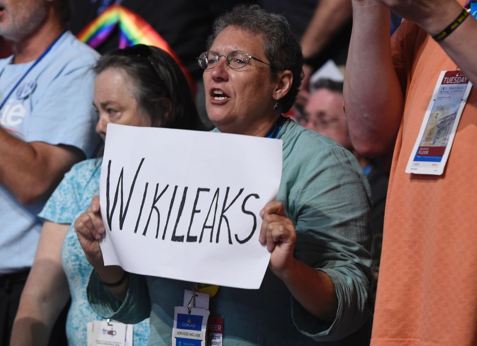 Clinton Campaign, Dems Have Yet to Prove a Single WikiLeaks Email Is Fake