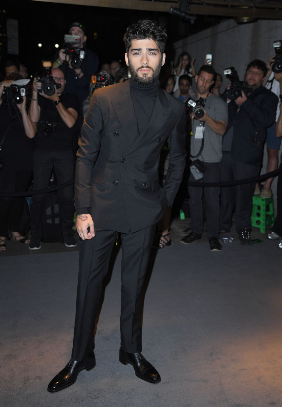 Zayn Malik's Collab With Versus Versace Is Off to a Rough Start