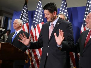 Speaker of the House Paul Ryan, who is leading the push to repeal and replace the Affordable Care Act. (Photo by Chip Somodevilla/Getty Images)