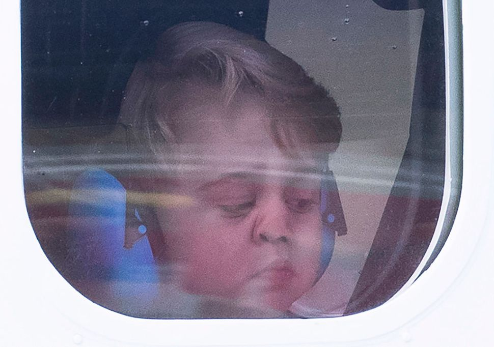 Prince George Really Didn't Want to Leave Canada