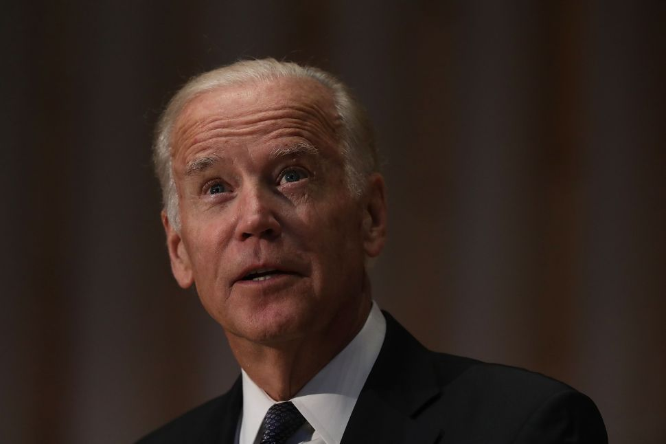 'This Year, If You're Not Running, You Look Better—No Matter Who You Are,' Biden Says