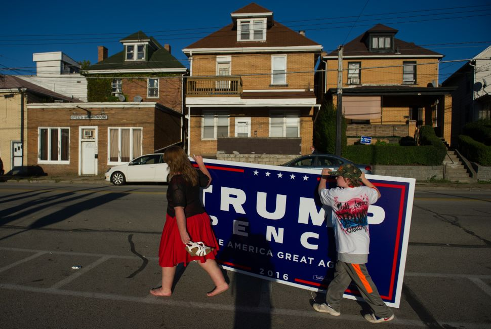Why Democratic Rust Belt Enclaves Will Swing Donald Trump Republican