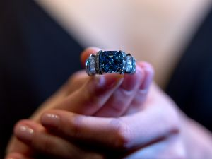 The Sky Blue Diamond.