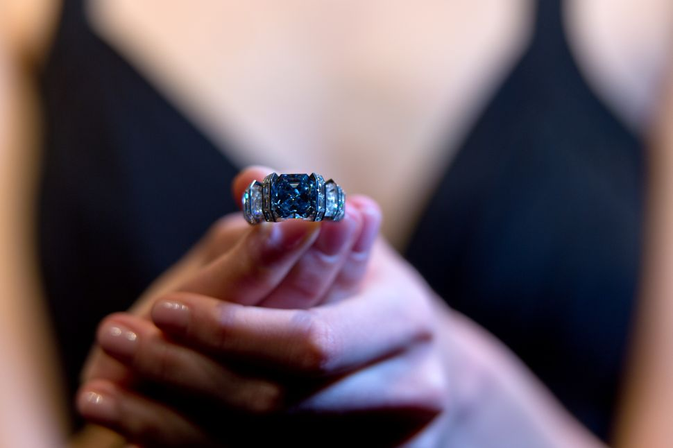 This Rare 'Sky Blue Diamond' Could Be Yours, For $25 Million