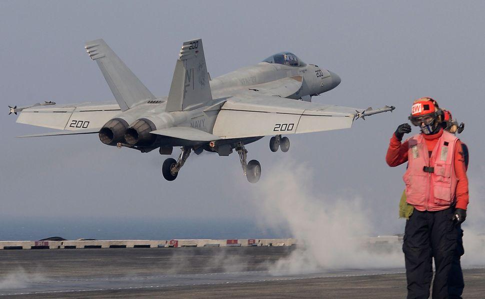 Iran-Backed Yemen Fires on US Navy