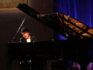 NEW YORK, NY - OCTOBER 17: Lang Lang performs at the Lang Lang International Music Foundation Gala at Cipriani 25 Broadway on October 17, 2016 in New York City.