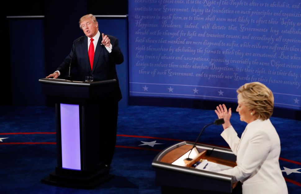 'I'll Keep You In Suspense': Trump and Clinton Brawl in the Third Presidential Debate