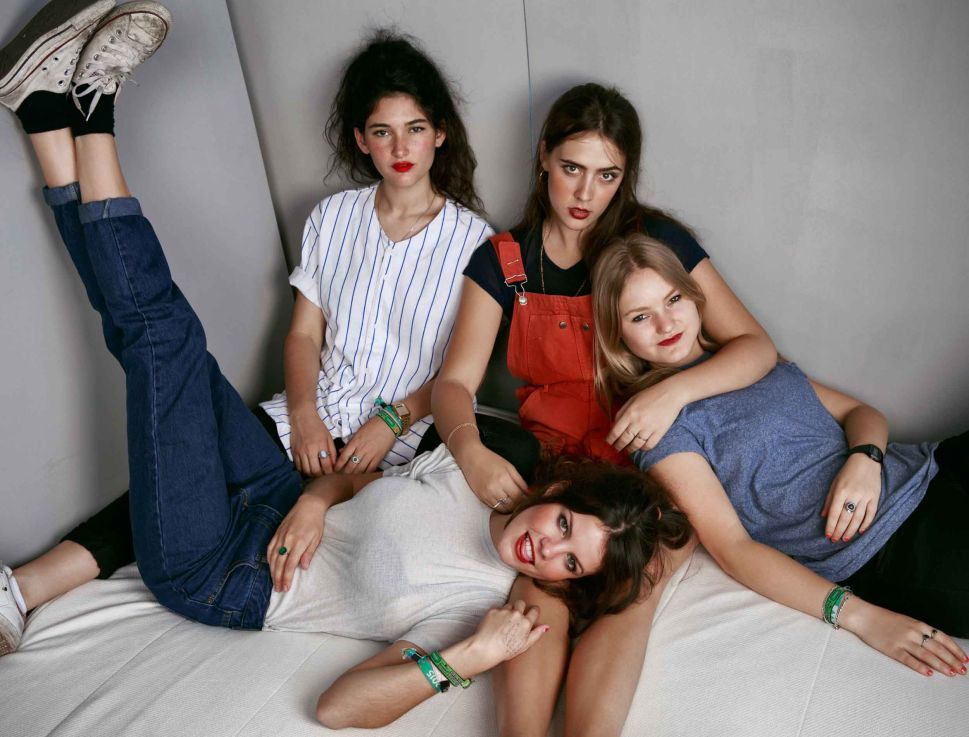As Fans First, Madrid's Hinds Infuse Garage Rock With Good Vibes