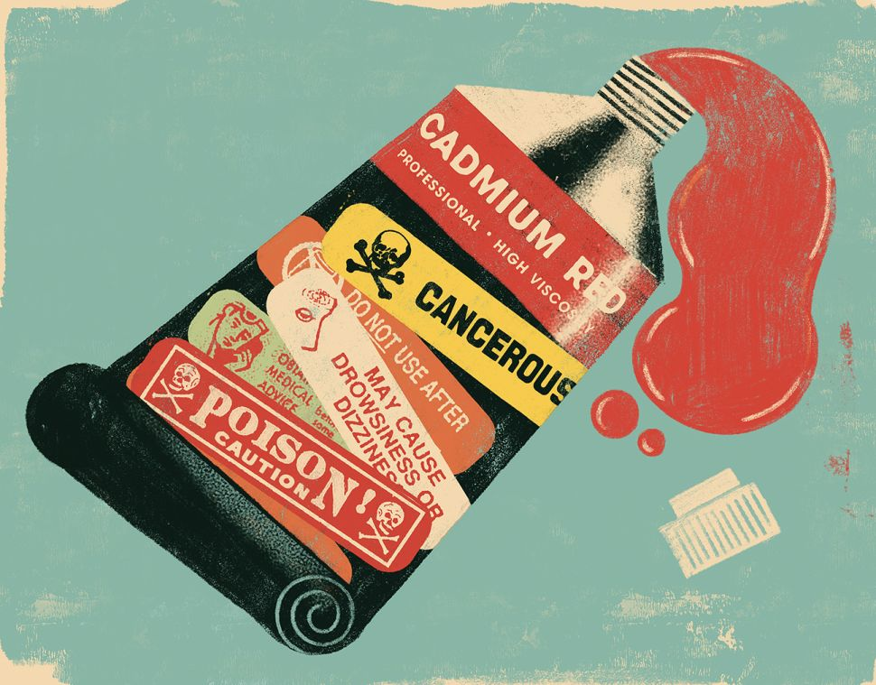 Toxic Art: Is Anyone Sure What's In A Tube of Paint?