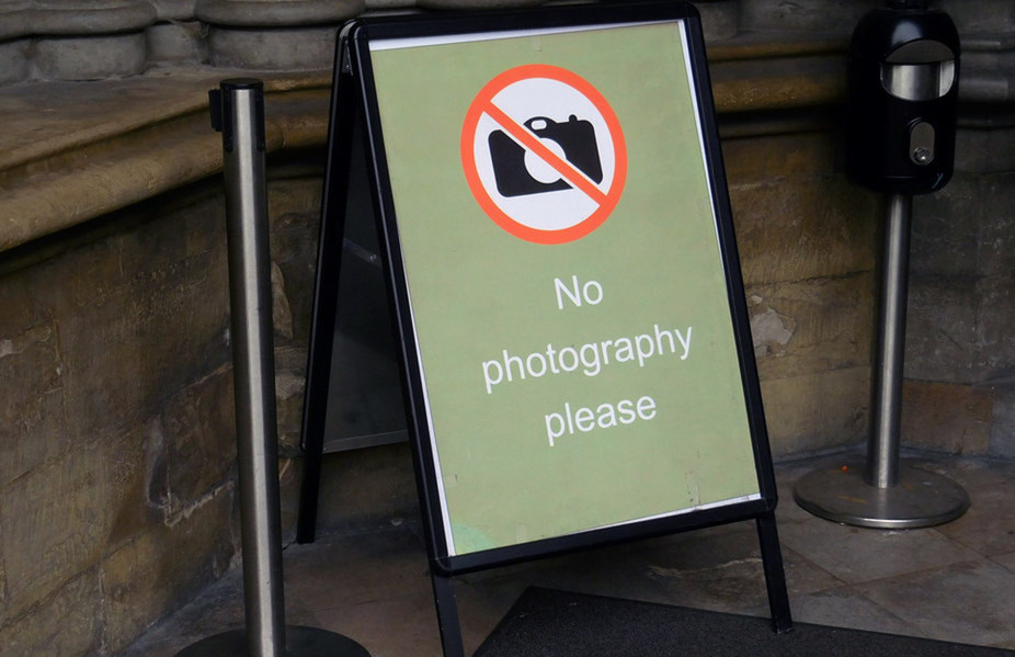 Why Taking Photographs Is Banned in Many Museums and Historic Places