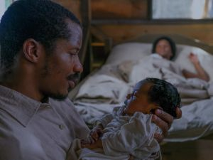 """Nate Parker as """"Nat Turner"""" in The Birth of a Nation."""