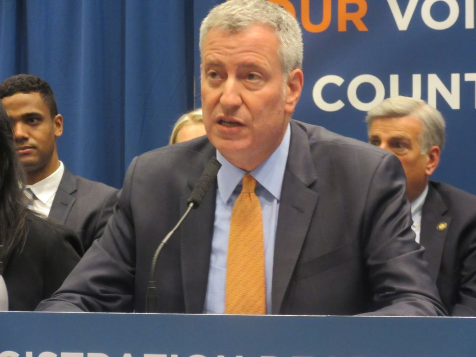 NYC Mayor Vows Trump's National Stop-And-Frisk Plan 'Will Never Happen Under My Watch'