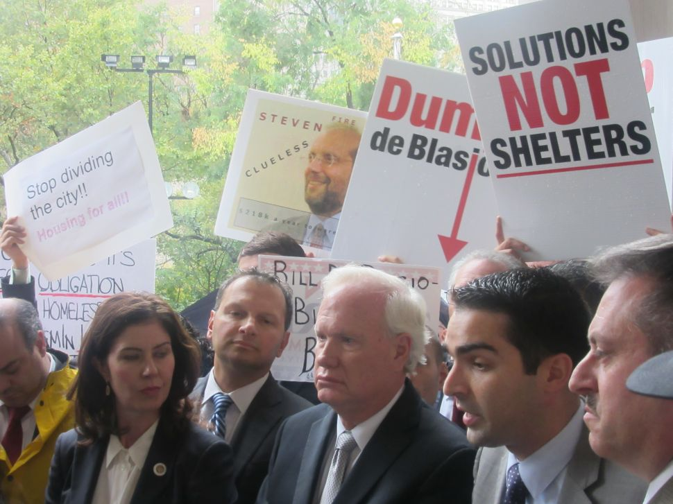 Queens Pols Blast Mayor's 'Failed Policies' to Tackle Homelessness