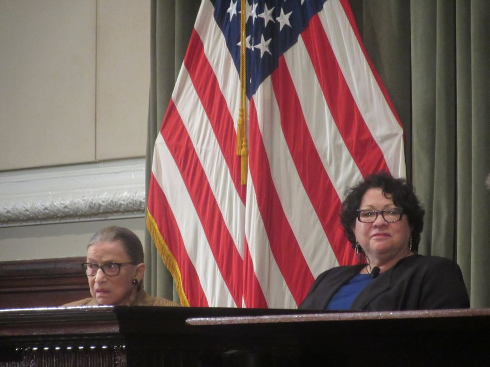 Ruth Bader Ginsburg and Sonia Sotomayor Say Supreme Court Needs a Ninth Justice—Fast