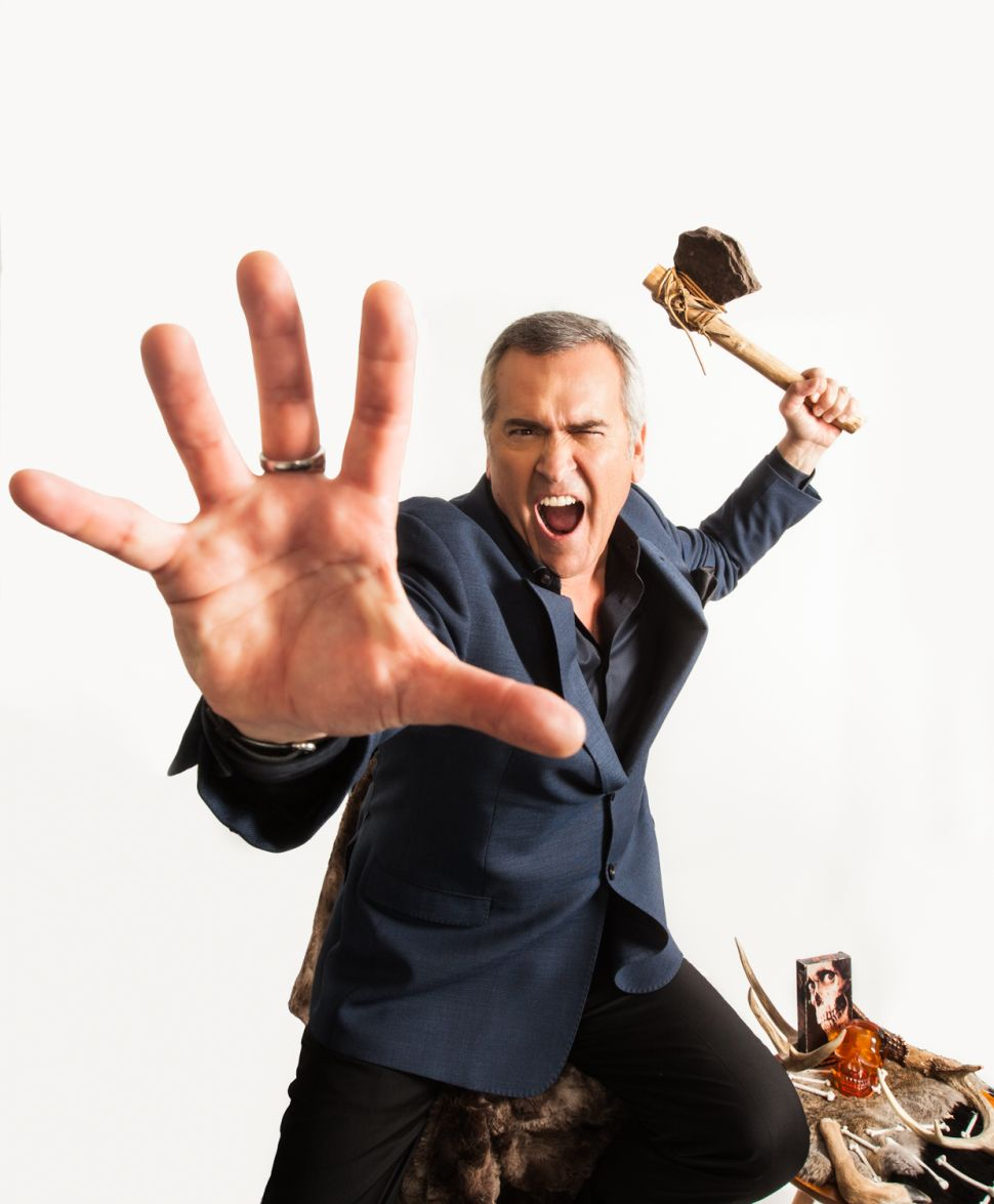 Bruce Campbell: Wanted, 'Dead' and Alive