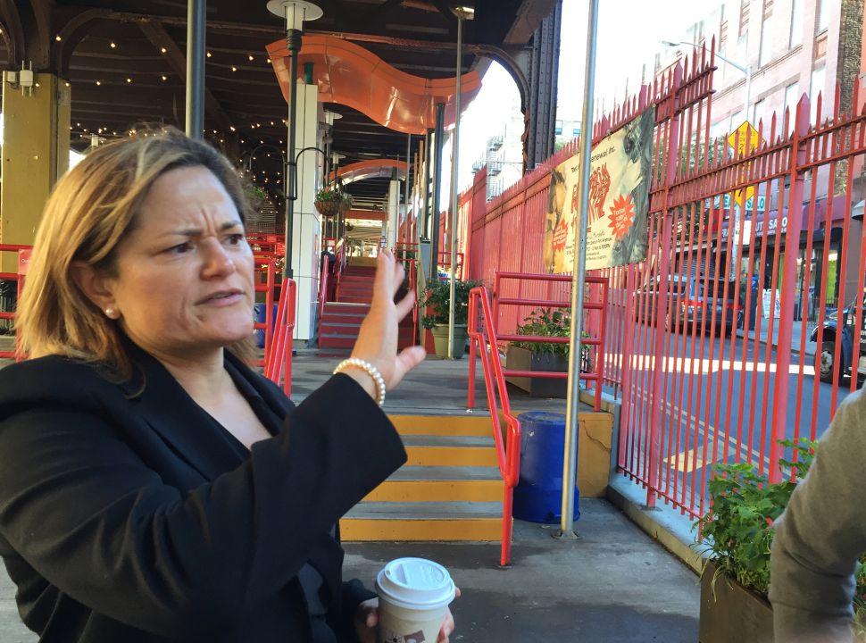 Council Speaker Melissa Mark-Viverito Takes a Stroll Through the Booming Barrio