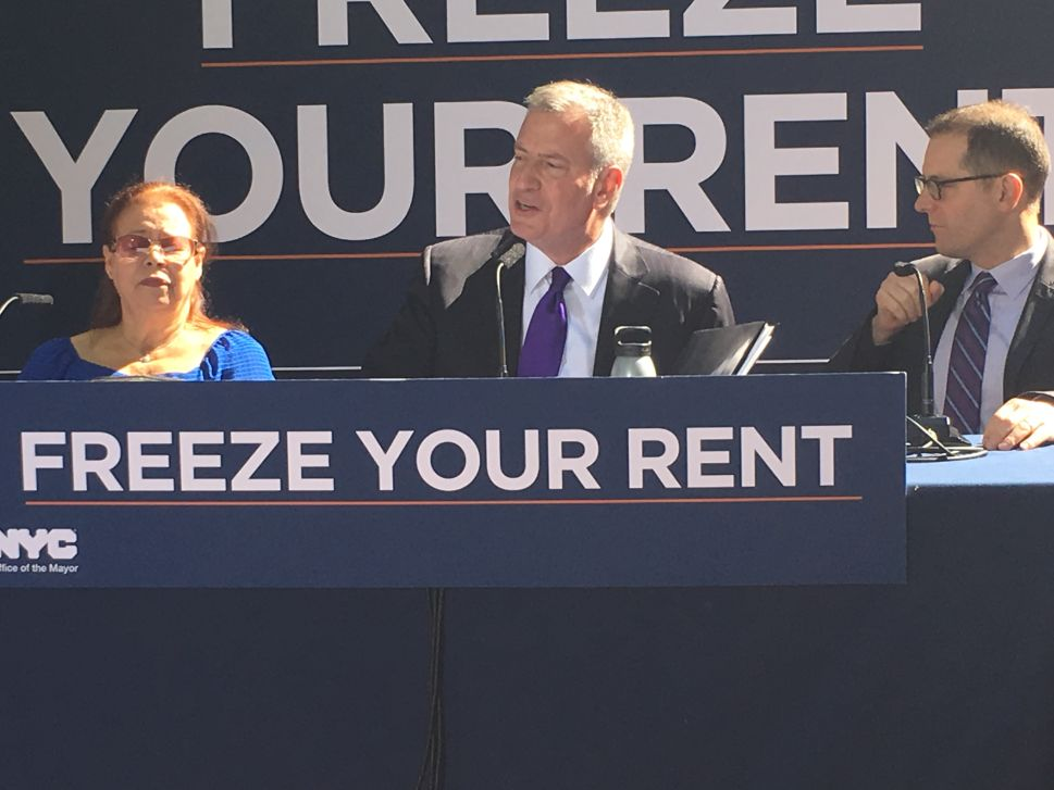 'The People Won and the Landlords Lost'—Bill de Blasio Cheers Rent Freeze Ruling