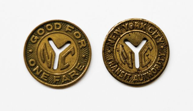 Subway tokens.
