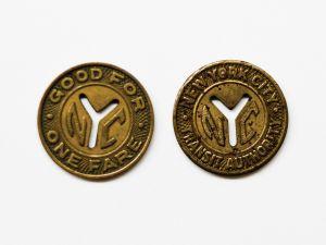 Subway tokens.