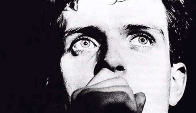Ian Curtis of Joy Division.