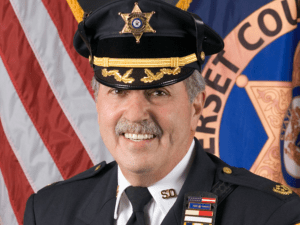 Somerset County Sheriff Frank Provenanzo's reelection campaign has had the county's Democratic and Republican chairs caught up in a war of words.