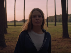 Still from Maggie Rogers' debut single, 'Alaska""