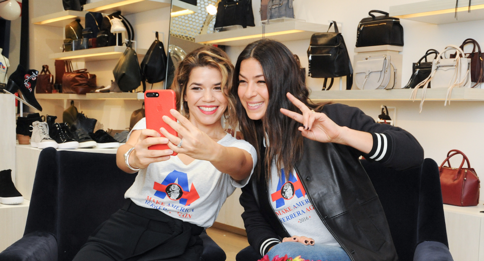 America Ferrera and Rebecca Minkoff Want You To Be Excited About Voting