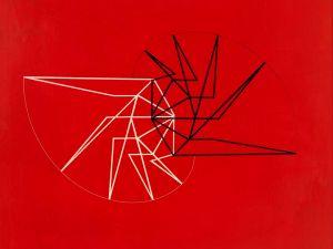 Waldemar Cordeiro, (Brazilian, 1925–1973). Visible Idea, 1956.