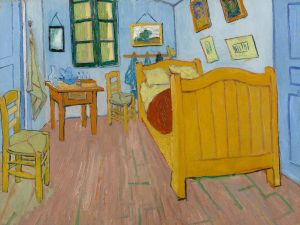 Vincent van Gogh, The Bedroom, 1888.