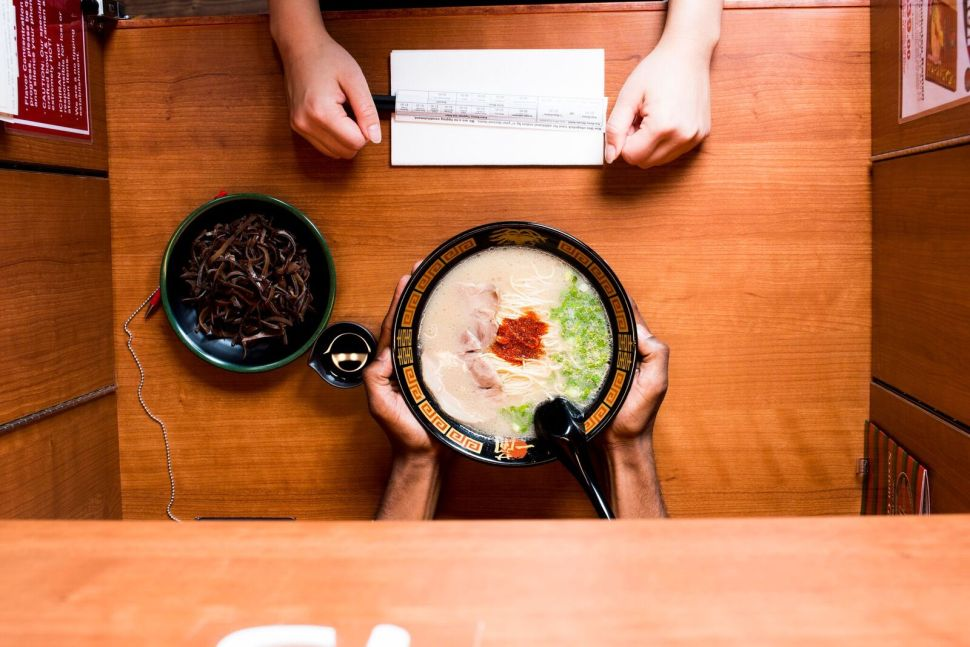 Eating Alone Is an Art at This Bushwick Ramen Restaurant