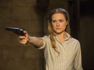 Evan Rachel Wood in Westworld.