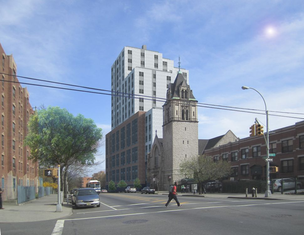 A Crucial Piece of de Blasio's Housing Plan Blossoms in the Bronx