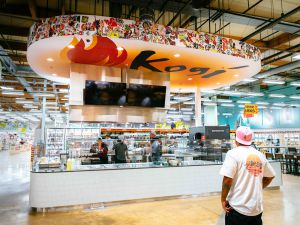 Roy Choi has opened Kogi Taqueria at the Whole Foods in El Segundo.