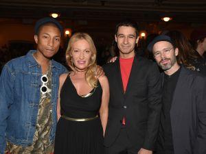 Pharrell Williams, Diana Widmaier Picasso, Jonah Bokaer, Daniel Arsham