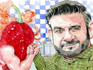 Adam Richman.