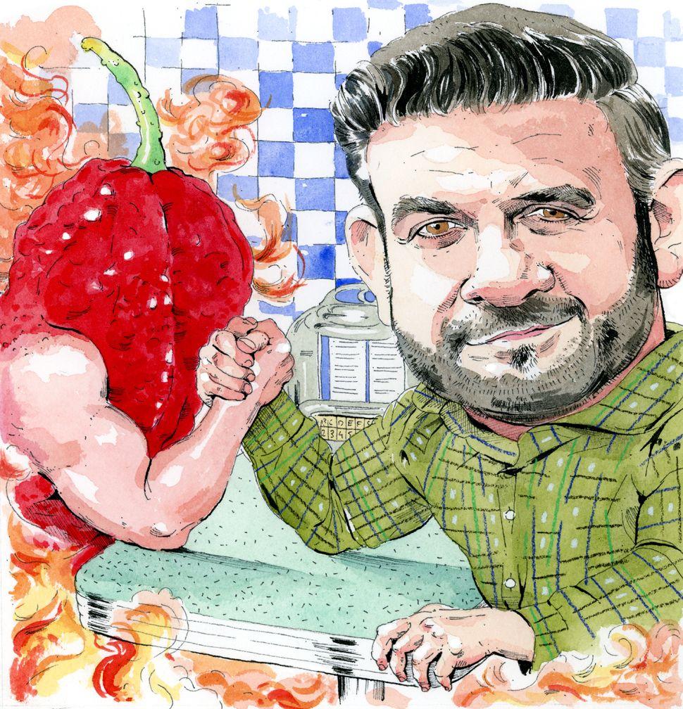 Pro Eater Adam Richman Dishes on Brooklyn, Bourdain and Anti-Semitic Fans