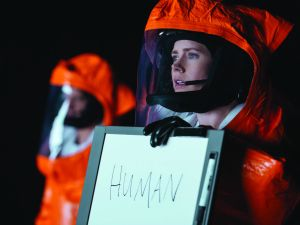 Amy Adams as Louise Banks in Arrival.