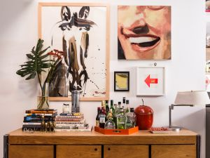 """""""My job was to do the structure and organization of the space and try to maximize every square inch, including storage, which is so hard in New York apartments,"""" Baxter said."""