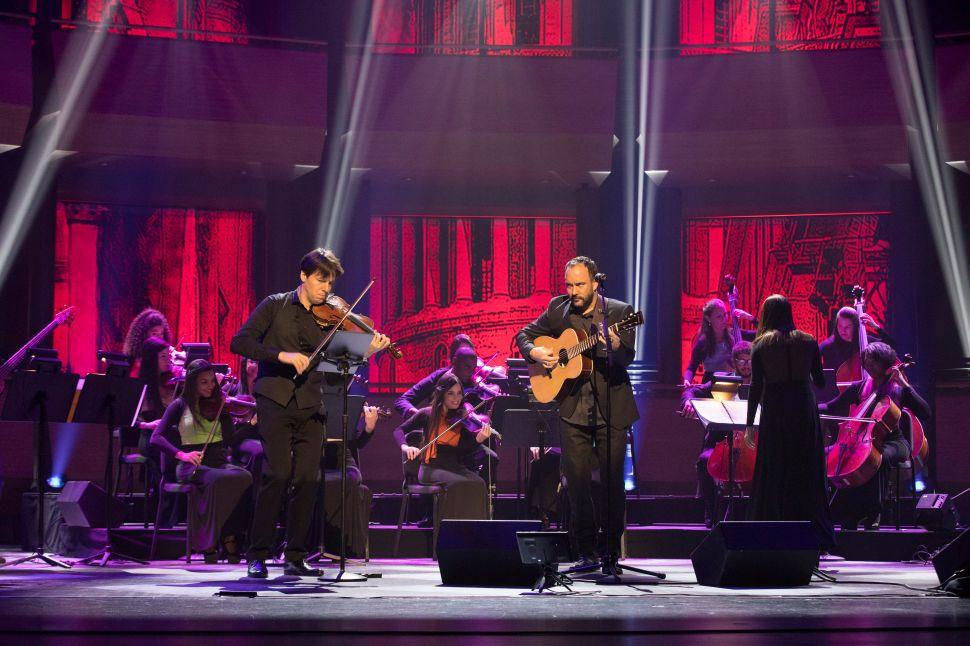 Dave Matthews & Violinist Joshua Bell Brought Cuba to Lincoln Center Last Night