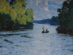 Frank Benson's Salmon Fishing.
