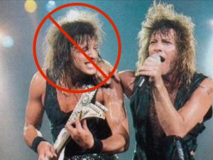 Richie Sambora and Jon Bn Jovi.