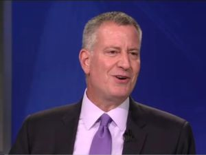 Mayor Bill de Blasio on Inside City Hall.