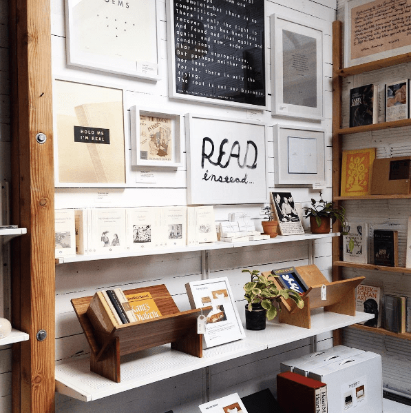 Never Want to Leave: The Book / Shop in Oakland