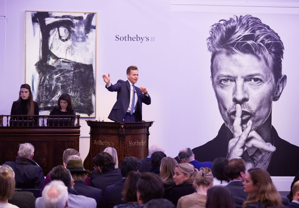 David Bowie Art Collection Shatters Records, High Pay for Art World Social Media Jobs