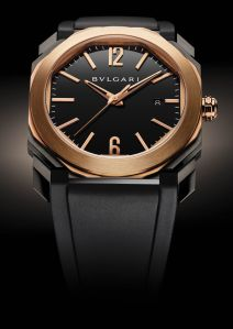 Perhaps the most elegant time-only watch on the market, and the red gold bezel really pops on the black case. $10,600