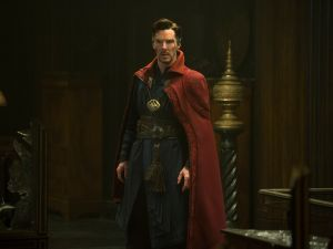 Benedict Cumberbatch as Stephen Strange.