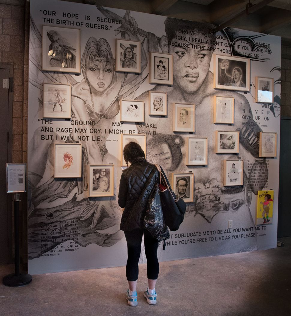 LGBTQ Artists Behind Bars Get Their Own Show at Henry Street Settlement