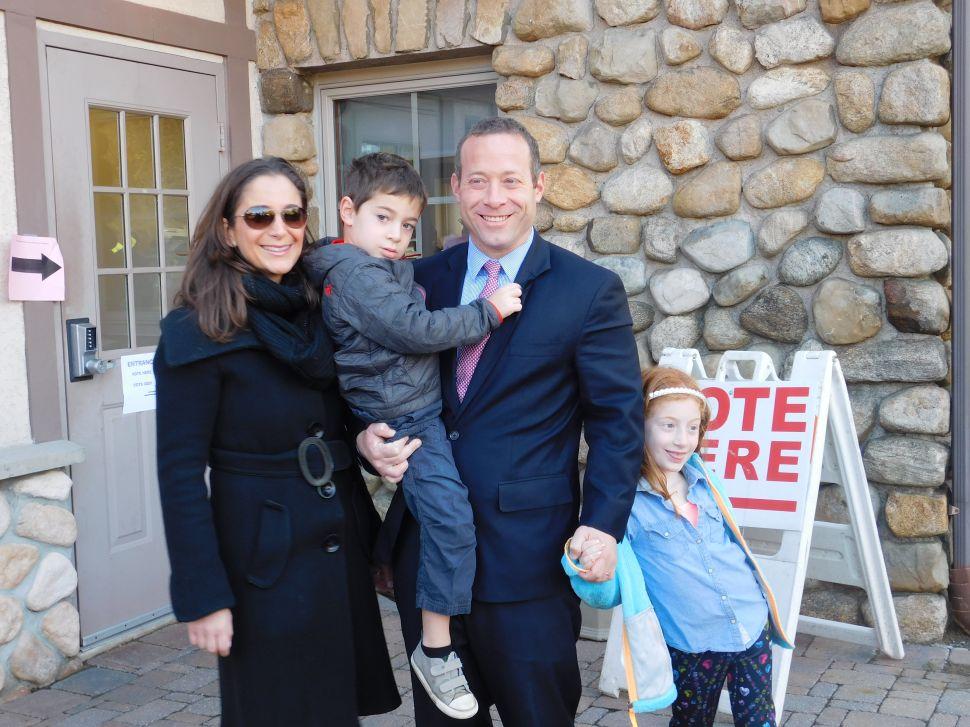 NJ Congressional District 5 Candidate Gottheimer Casts Vote, Feels Confident